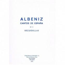Albeniz, Isaac. Cantos de España Nº5. Seguidillas (Piano)