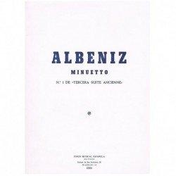 Albeniz, Isa Minuetto (Nº1...