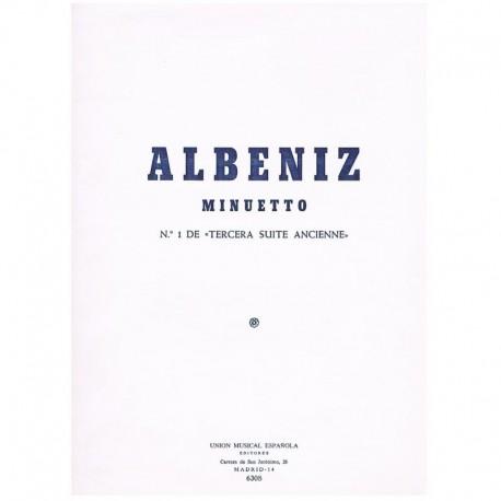 "Albeniz, Isa Minuetto (Nº1 de 3ª Suite Ancienne)"""""