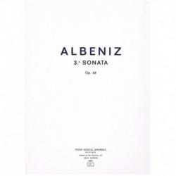 Albeniz, Isaac. 3ª Sonata Op.68 (Piano)