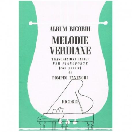 Verdi Melodia Verdiana (Piano Fácil)