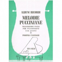 Puccini Melodia Pucciniana (Piano Fácil)