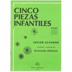 Alfonso, Javier. Cinco Piezas Infantiles (Piano)