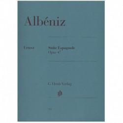 Albeniz, Isaac. Suite Española Op.47 Urtext (Piano)