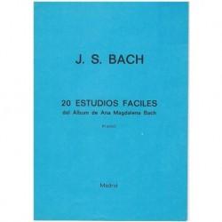 Bach, J.S. 20 Estudios Fáciles del Album de Ana Magdalena Bach (Piano)