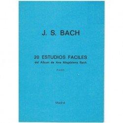 Bach, J.S. 20 Estudios...