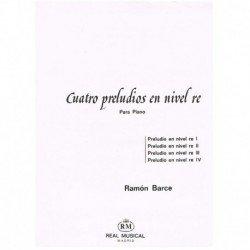 Barce, Ramón. 4 Preludios...