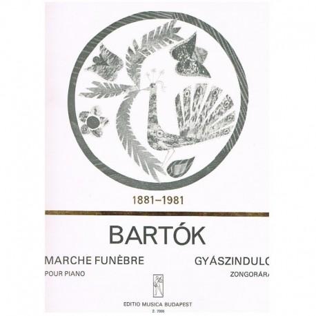 Bartok, Bela. Marcha Fúnebre (Piano)