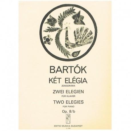 Bartok, Bela. 2 Elegías Op.8/b (Piano)
