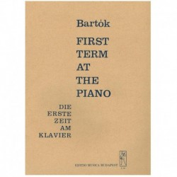 Bartok, Bela. First Term at...