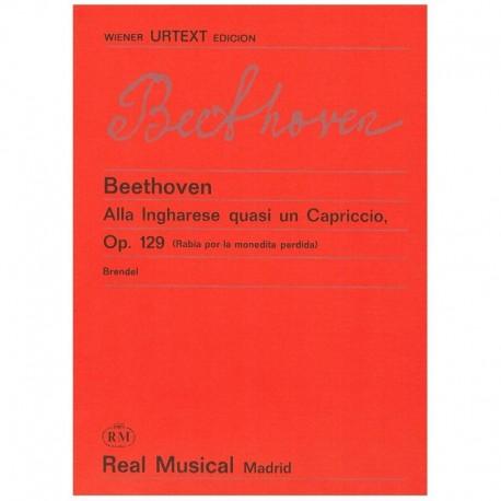 Beethoven Alla Ingharese Quasi un Capriccio Op.129 (Rabia por la Monedita