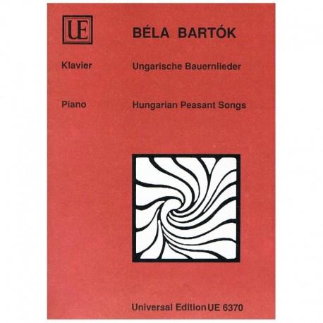 Bartok, Bela 15 Canciones Húngaras