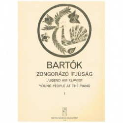 Bartok, Bela Young People at The Piano Vol.1