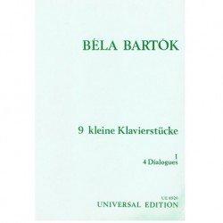 Bartok, Bela 9 Pequeñas...