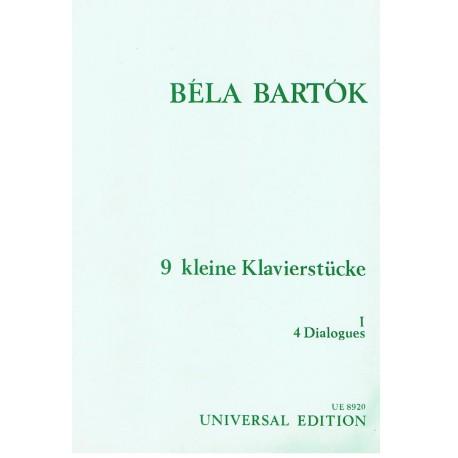 Bartok, Bela 9 Pequeñas Piezas Vol.1
