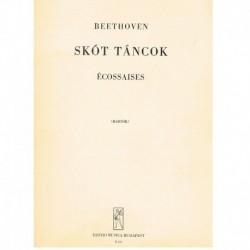 Beethoven Escocesas para Piano