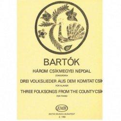 Bartok, Bela 3 Canciones...
