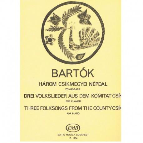 Bartok, Bela 3 Canciones Populares de la Ciudad de Csik