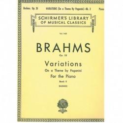 Brahms. Variaciones Sobre...