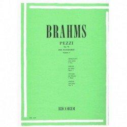 Brahms. Piezas Vol.1 Op.76