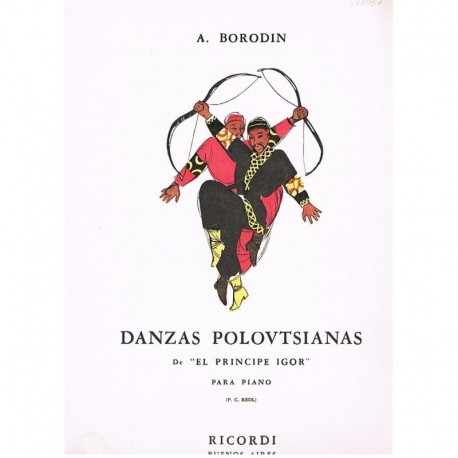 Borodin. Danzas Polovtsianas (de El Principe Igor)
