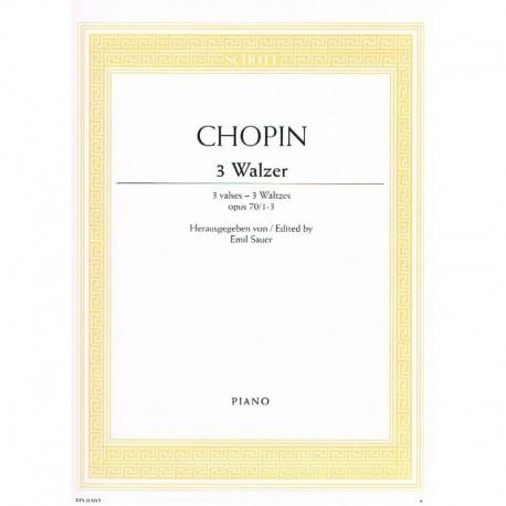 Chopin 3 Valses Op.70