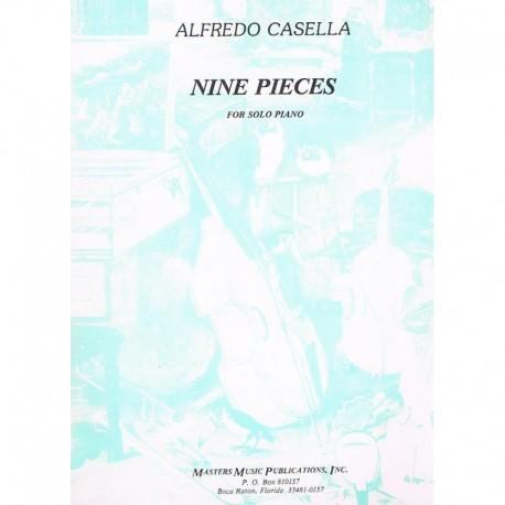 Casella, Alf 9 Piezas para Piano Solo