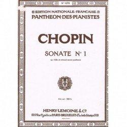 Chopin Sonata Nº1 en Do...