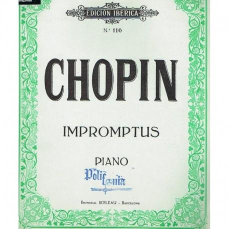 Chopin Impromptus para Piano