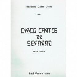 Calés Otero, 5 Cantos de...