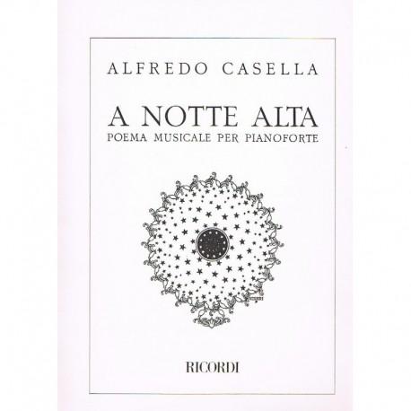Casella, Alf A Notte Alta. Poema Musical