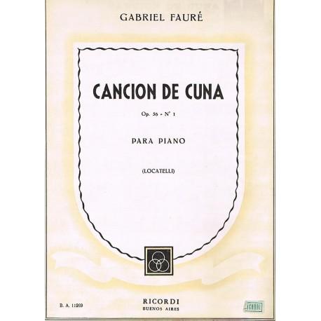 Fauré, Gabri Cancion de Cuna Op.56 Nº1