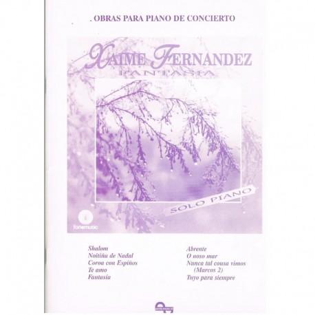 Fernández, X Fantasía para Piano de Concierto