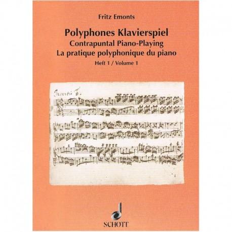 Emonts, Frit La Práctica Polifónica del Piano Vol.1