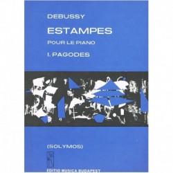 Debussy, Cla Estampes. Nº1 Pagodes