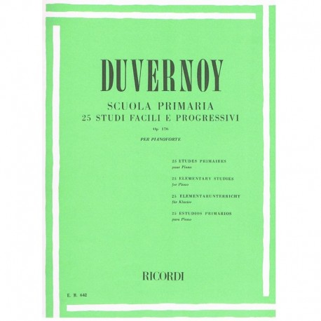 Duvernoy 25 Estudios Primarios Op.176