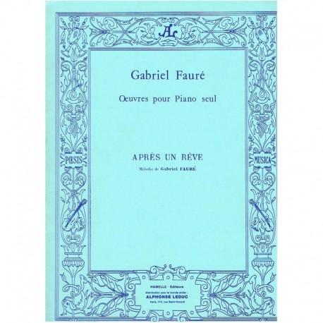 Fauré, Gabri Après un Rêve