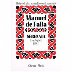 Falla, Manue Serenata (1901)