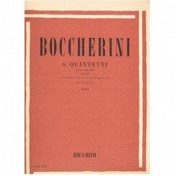 Boccherini. 6 Quintetos...