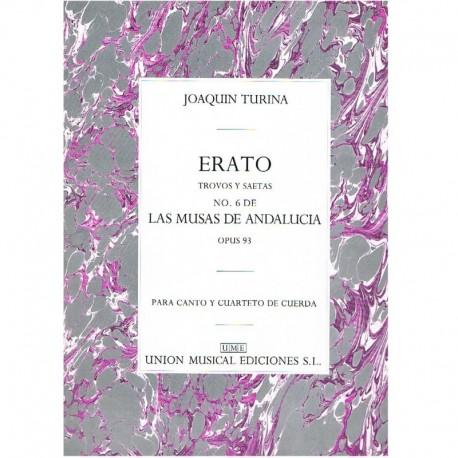 Turina. Erato. Trovos y Saetas Op.93 (Canto y Cuarteto de Cuerda)