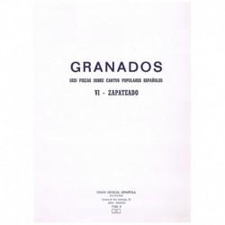 """Granados, En Zapateado (de 6 Piezas Sobre Cantos Populares Españoles)"""""""""""