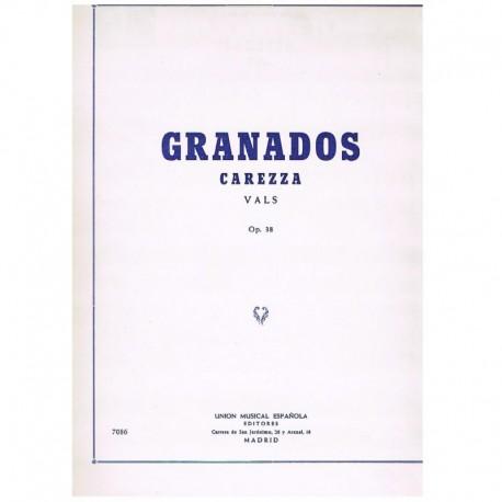 Granados, En Carezza. Vals Op.38