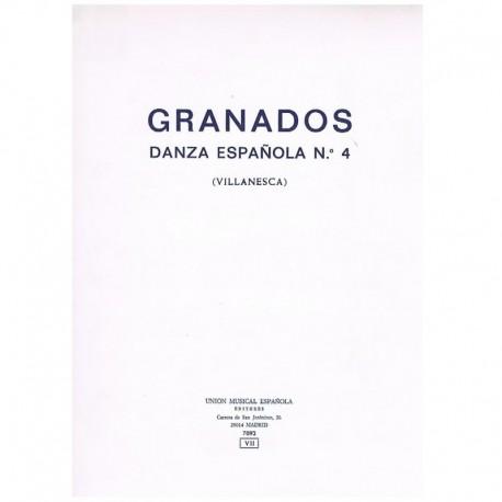 Granados, En Danza Española Nº4 (Villanesca)