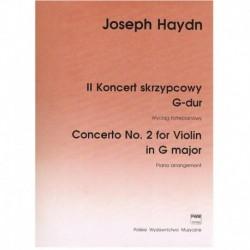 Haydn, Josep Concierto Nº2...