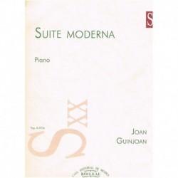 Guinjoan, Jo Suite Moderna (Piano)