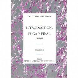 Halffter, Cr Introduction, Fuga y Final Op.15