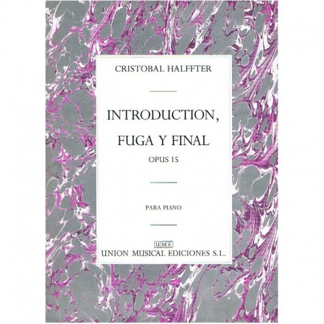 Halffter, Cr Introduction, Fuga y Final Op.15