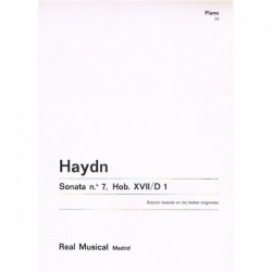 Haydn, Josep Sonata Nº7 HOB.XVII/D1