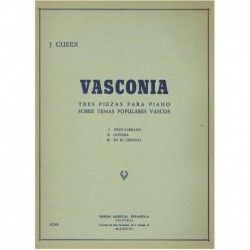 Guridi, Jesú Vasconia. 3 Piezas Sobre Temas Populares Vascos
