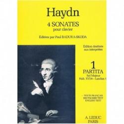 Haydn, Josep Partita en Sol Mayor HOB.XVI/6